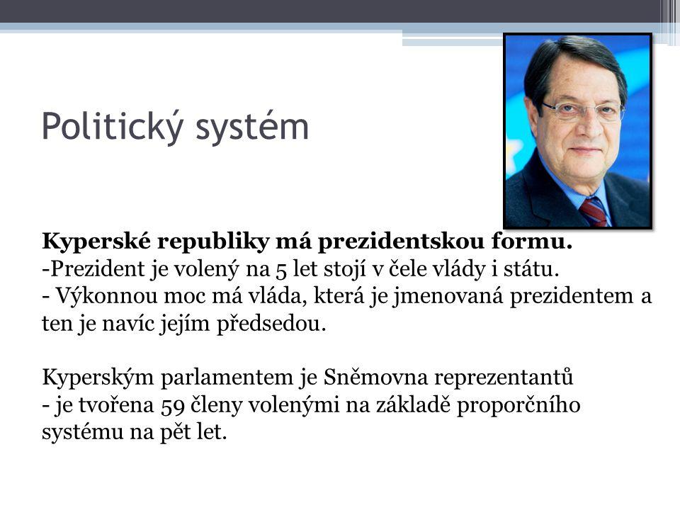 Politický systém Kyperské republiky má prezidentskou formu.