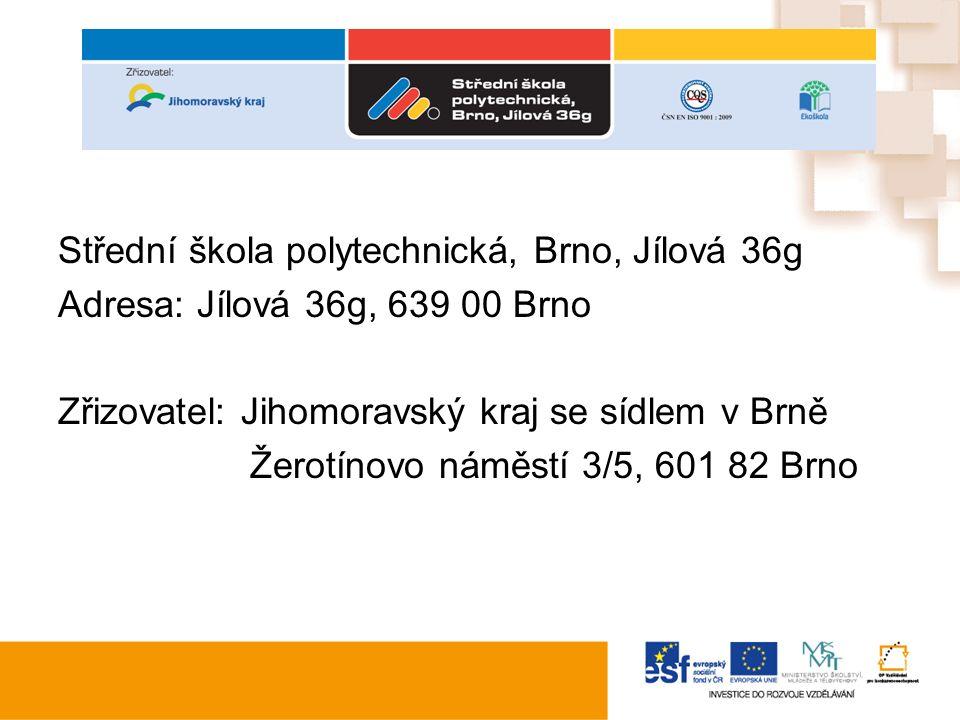 Klíčové aktivity Individualizace Zapojeno 11 pedagogických pracovníků Počet podpořených žáků SŠP, Brno, Jílová 36g –I/1 86 žáků –II/136 žáků –IV/195 žáků