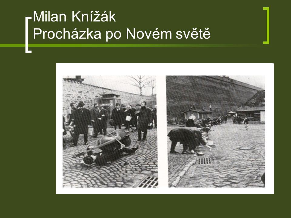 Milan Knížák Procházka po Novém světě