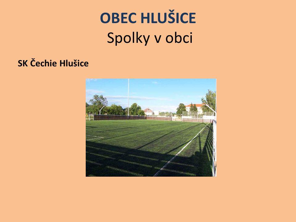OBEC HLUŠICE Spolky v obci SK Čechie Hlušice