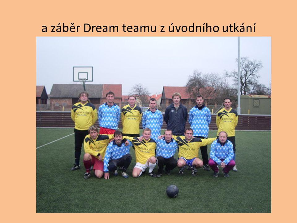 a záběr Dream teamu z úvodního utkání