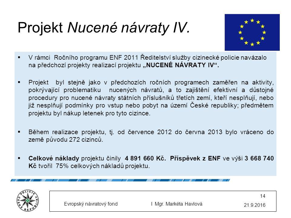 Projekt Nucené návraty IV.