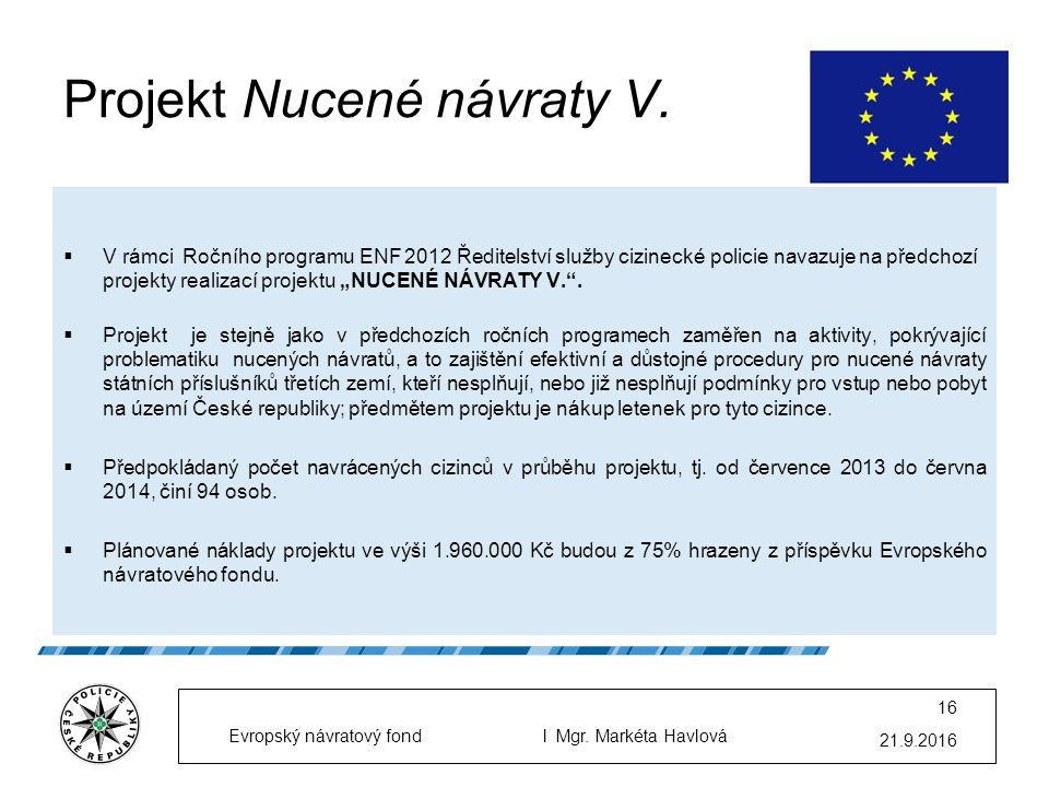 Projekt Nucené návraty V.