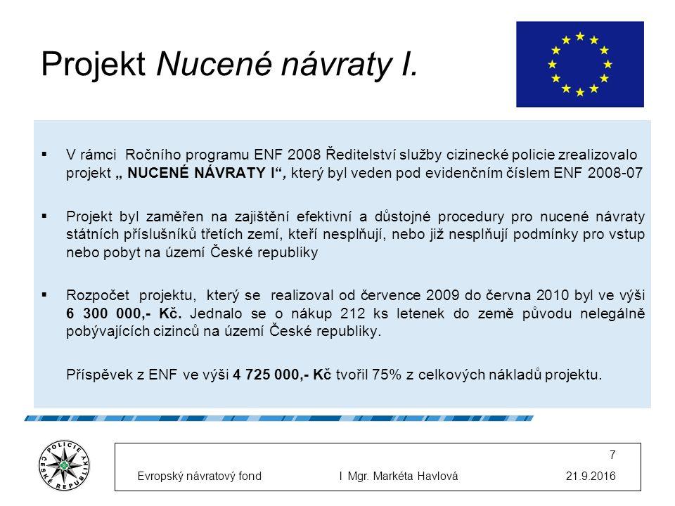 Projekt Nucené návraty I.