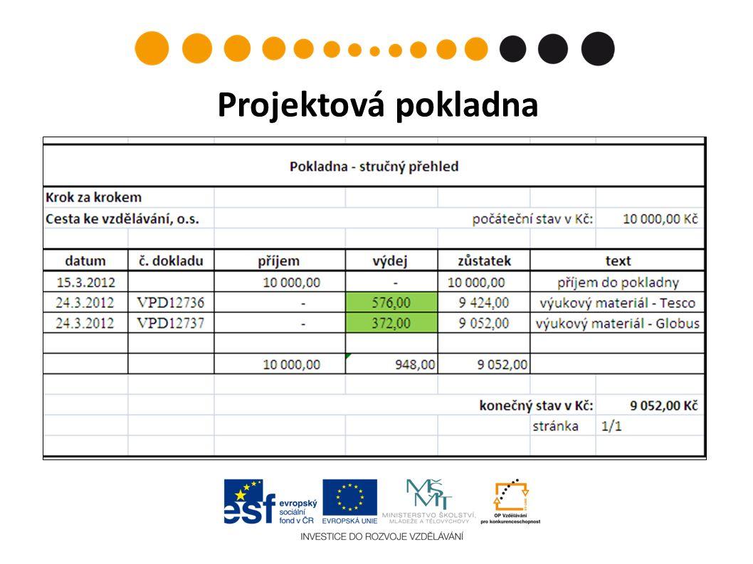 Projektová pokladna