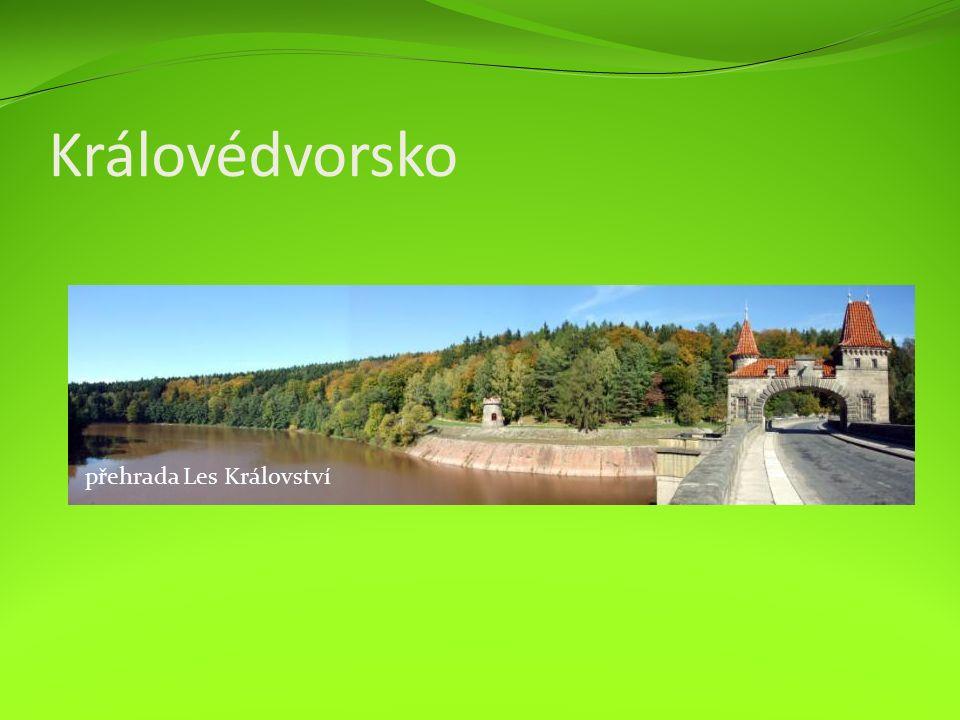 Královédvorsko přehrada Les Království