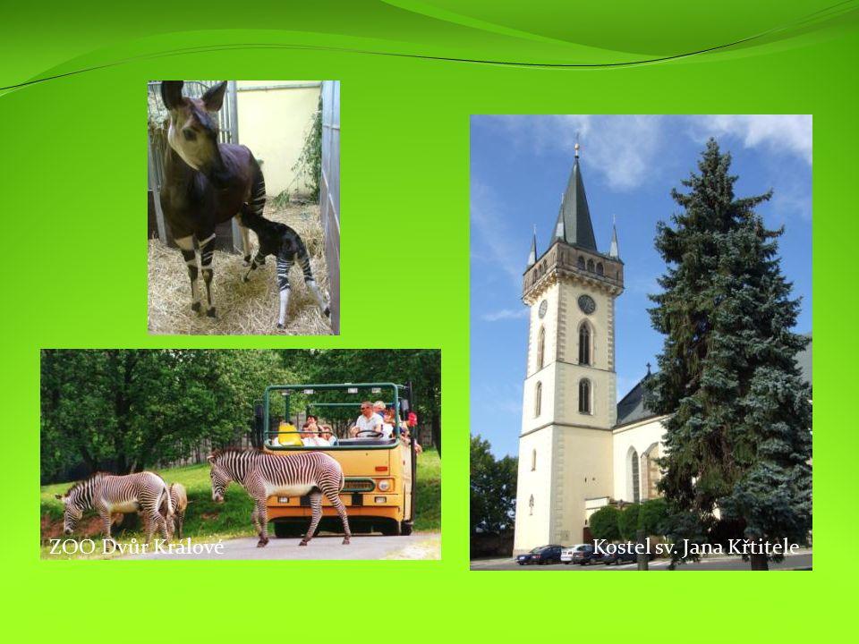 Kostel sv. Jana KřtiteleZOO Dvůr Králové