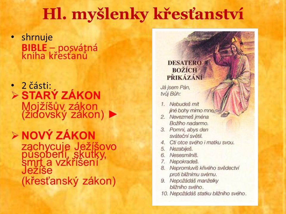 Světová náboženství POLYTEISMUS – mnohobožství – předkřesťanská náboženství pohanských národů (staří Germáni, Keltové, Slované, Římané…) Nejrozšířenějšími monoteistickými náboženstvími současnosti jsou KŘESŤANSTVÍ a ISLÁM, která obě navazují na ŽIDOVSTVÍ (judaismus)