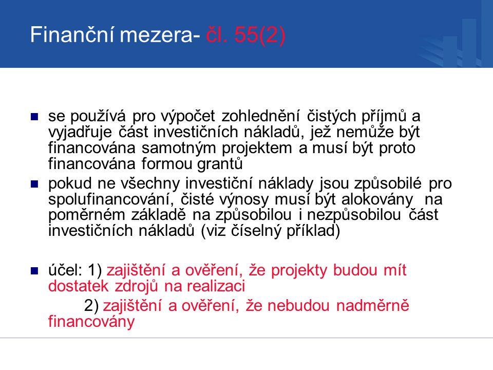 Finanční mezera- čl.