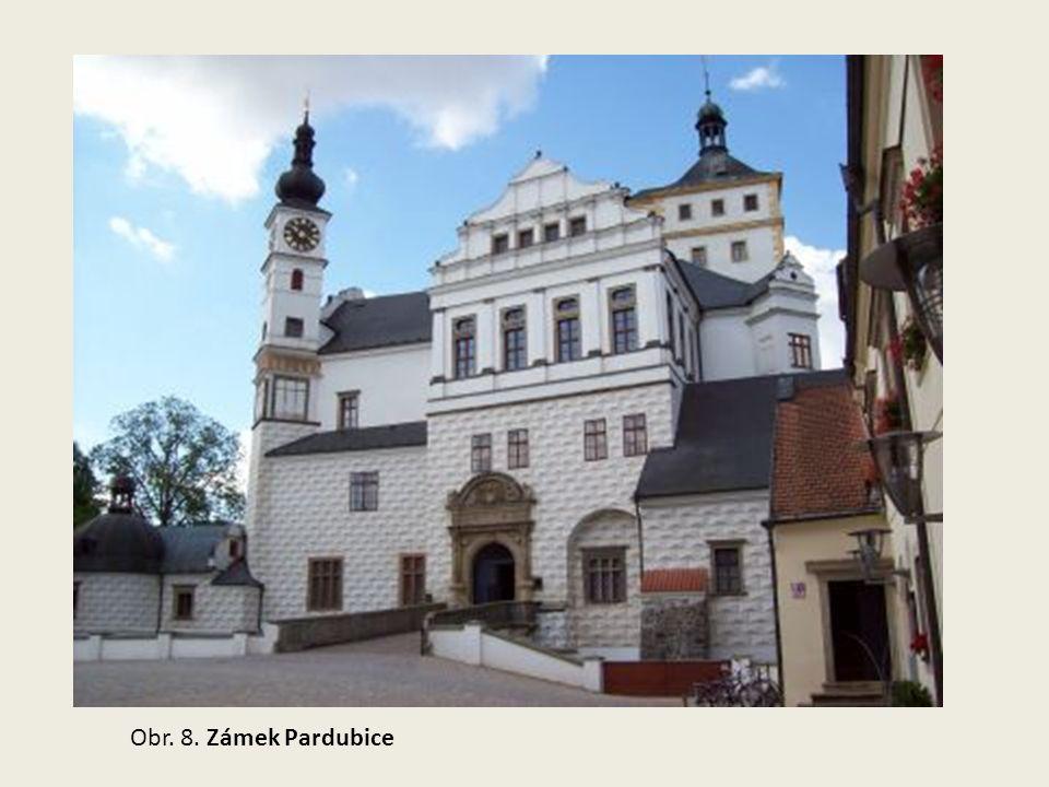 Obr. 8. Zámek Pardubice