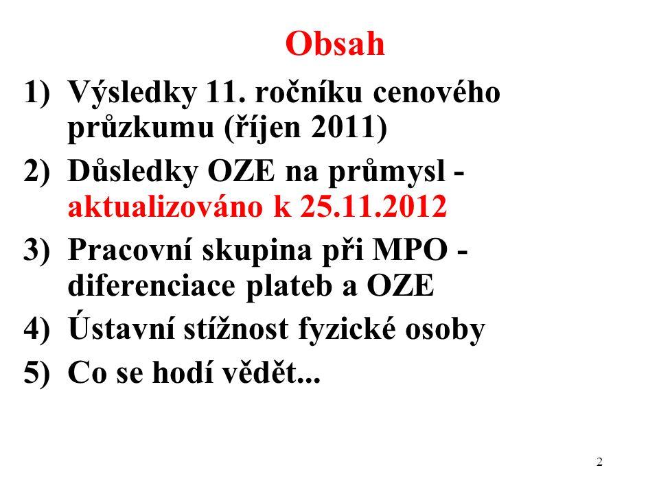 2 1)Výsledky 11.