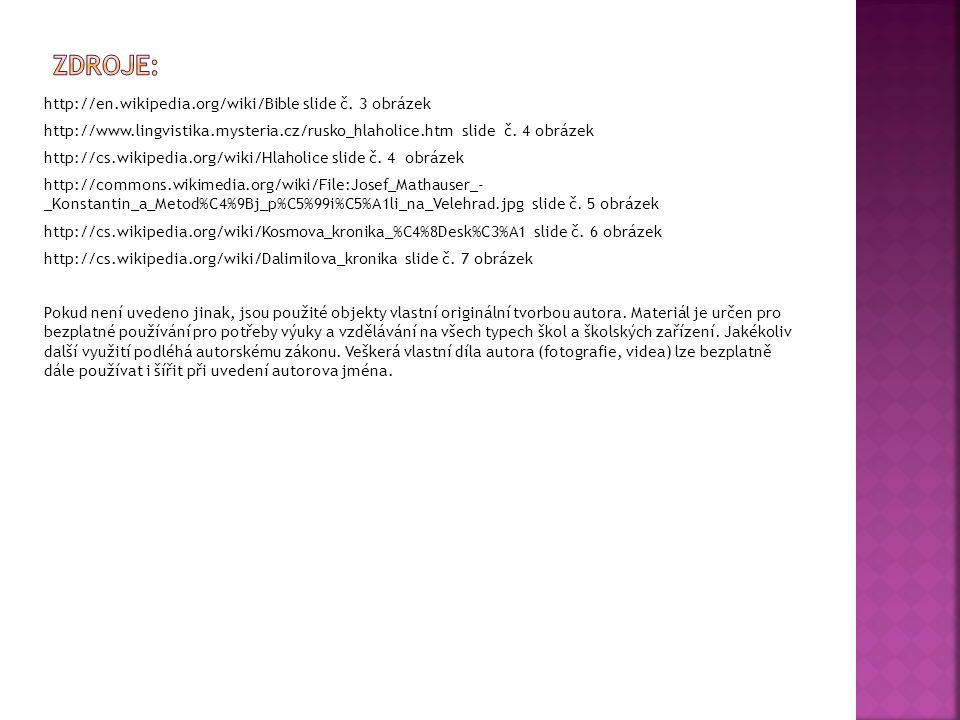 http://en.wikipedia.org/wiki/Bible slide č.