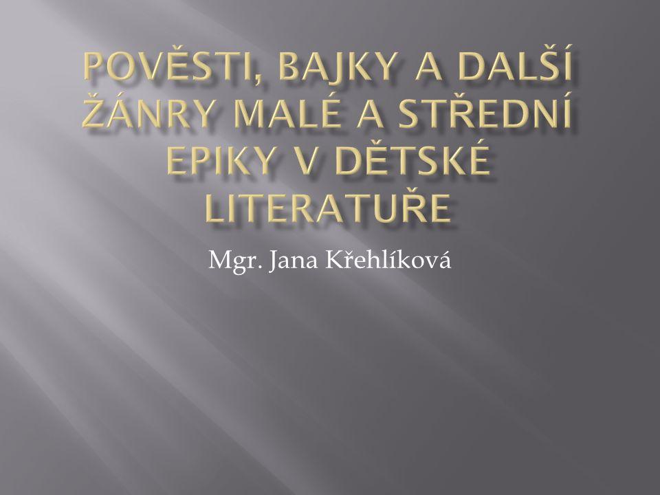 Mgr. Jana Křehlíková