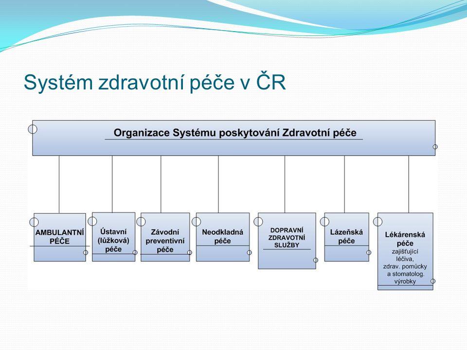 Systém zdravotní péče v ČR