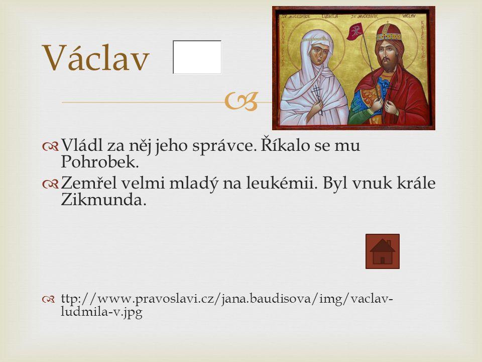   Panoval krátce.Byl zavražděn v Olomouci. Rod Přemyslovců vymřel po meči.