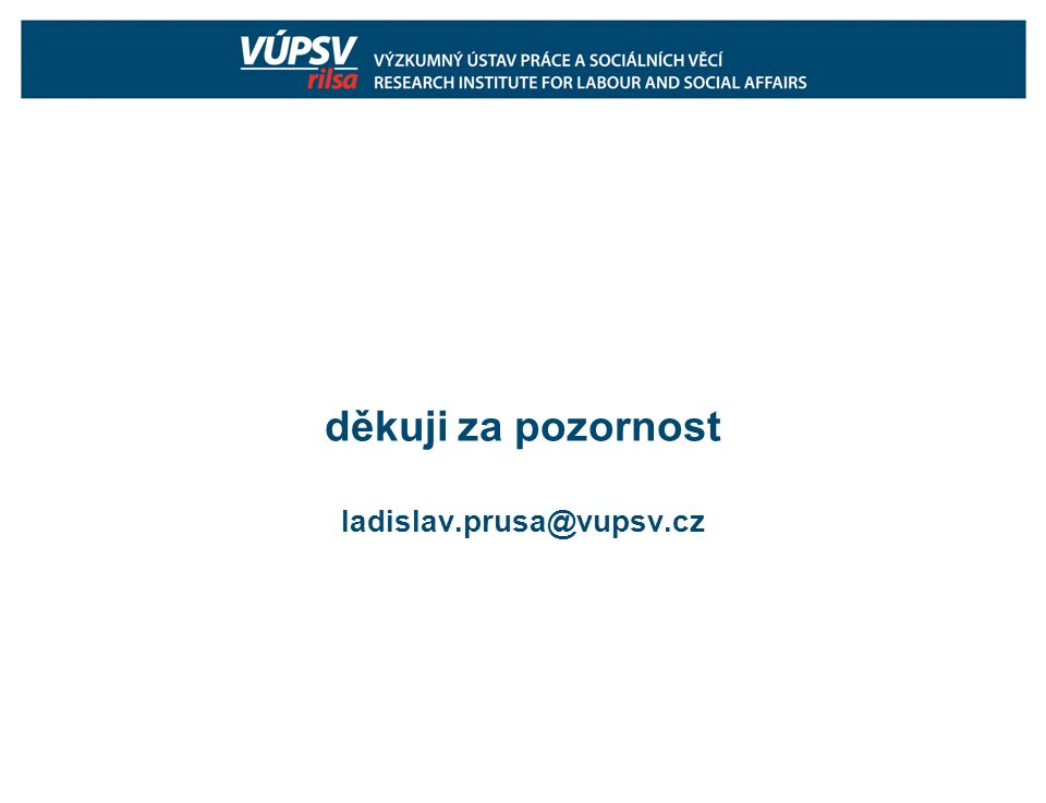 děkuji za pozornost ladislav.prusa@vupsv.cz