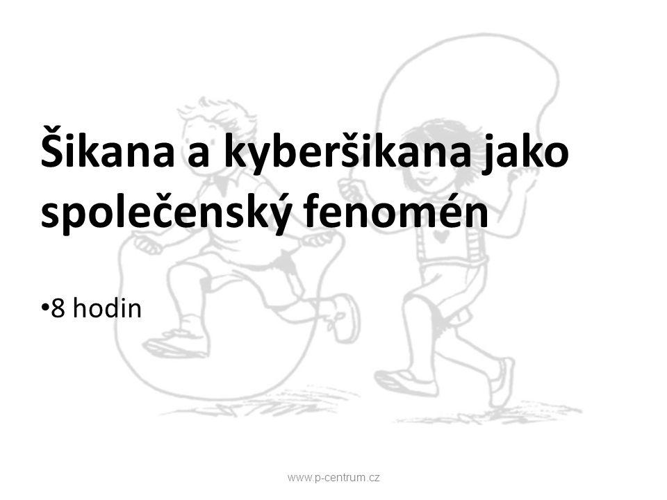 Agrese a agresivita dětí a dospívajících 8 hodin www.p-centrum.cz