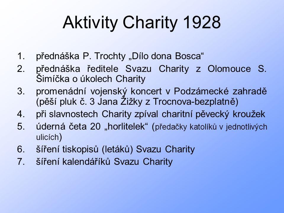 Aktivity Charity 1928 1.přednáška P.