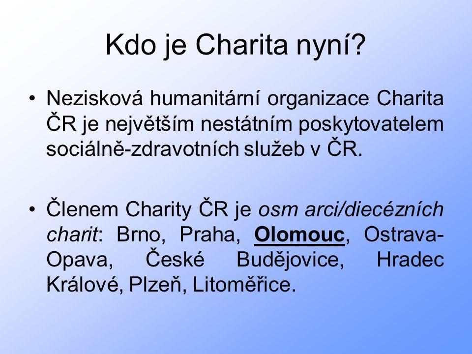 P.L. A. Bláha zmapoval tehdejší charitní činnost na Moravě a Slezsku.