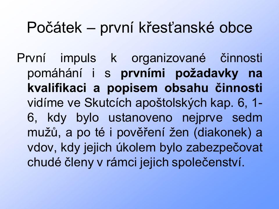 Ředitelky Charity v Kroměříži Ing.Zdeňka Nejezchlebováod 4.