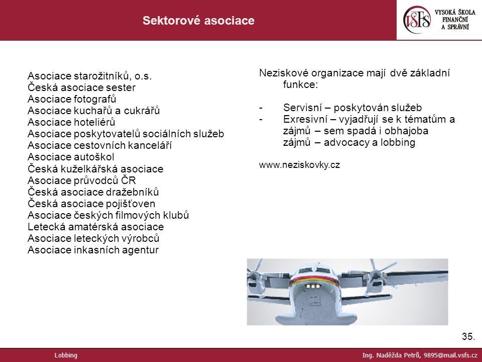 35. Sektorové asociace Asociace starožitníků, o.s.