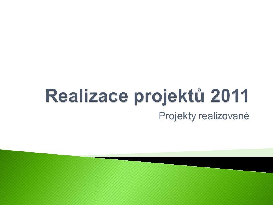 Projekty realizované