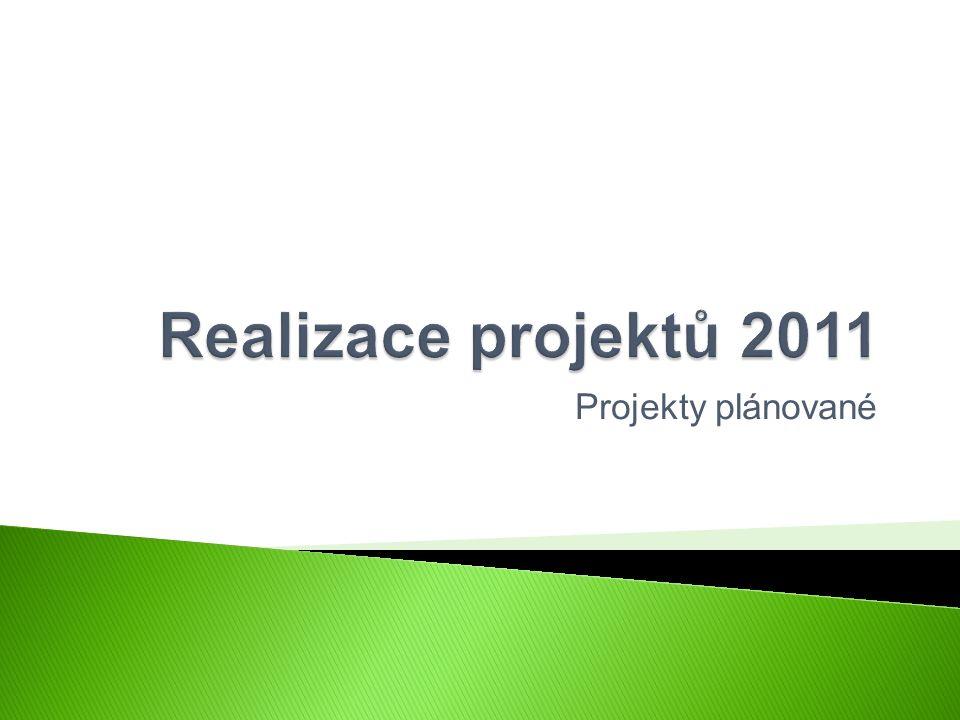 Projekty plánované