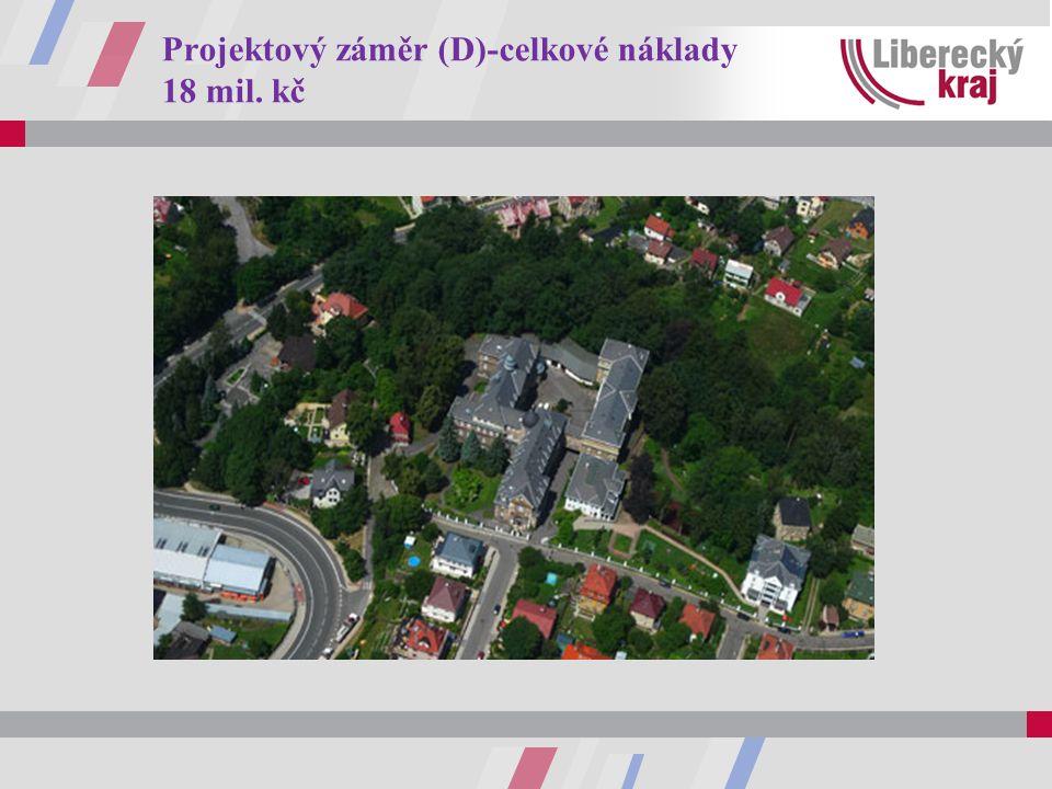 Projektový záměr (D)-celkové náklady 18 mil. kč