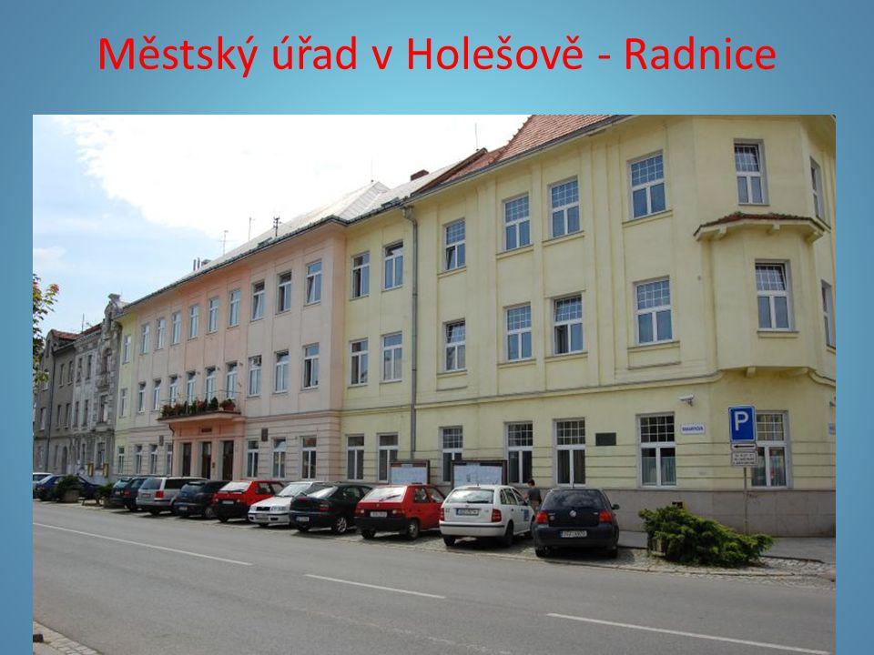 Městský úřad v Holešově - Radnice