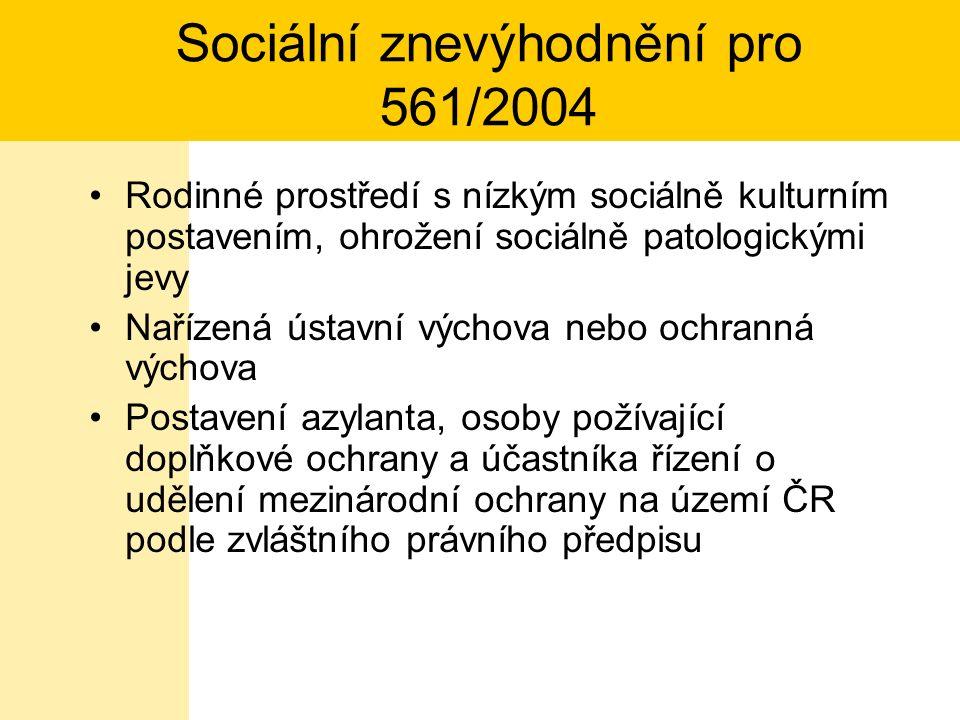Vzdělávání dětí, žáků a studentů se SVP Vyhláška MŠMT č.