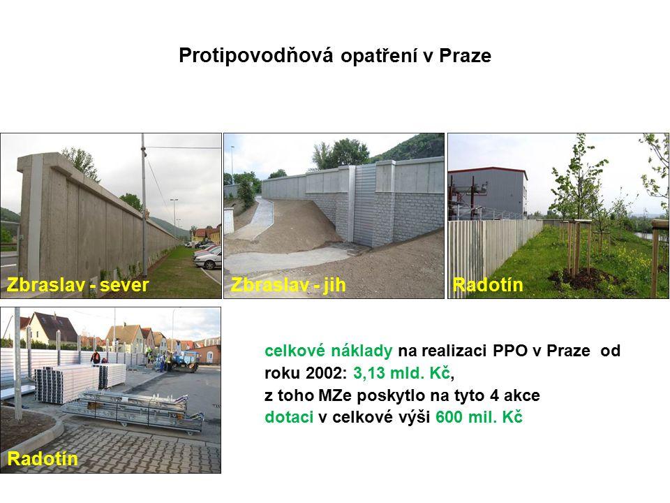 celkové náklady na realizaci PPO v Praze od roku 2002: 3,13 mld.