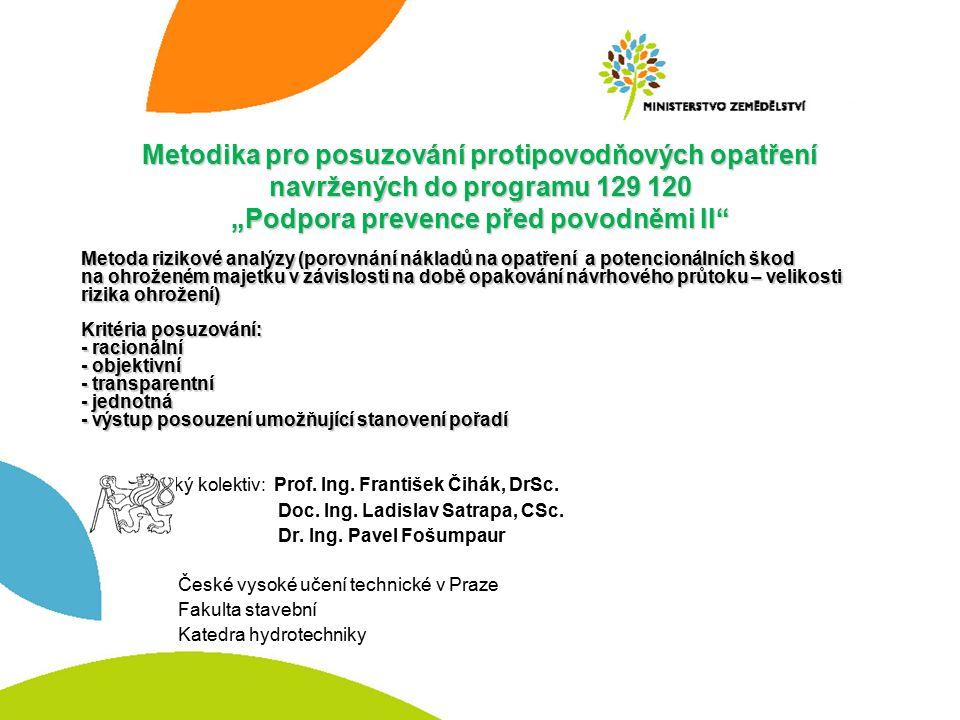 Autorský kolektiv: Prof. Ing. František Čihák, DrSc.