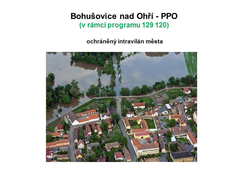 Bohušovice nad Ohří - PPO (v rámci programu 129 120) ochráněný intravilán města