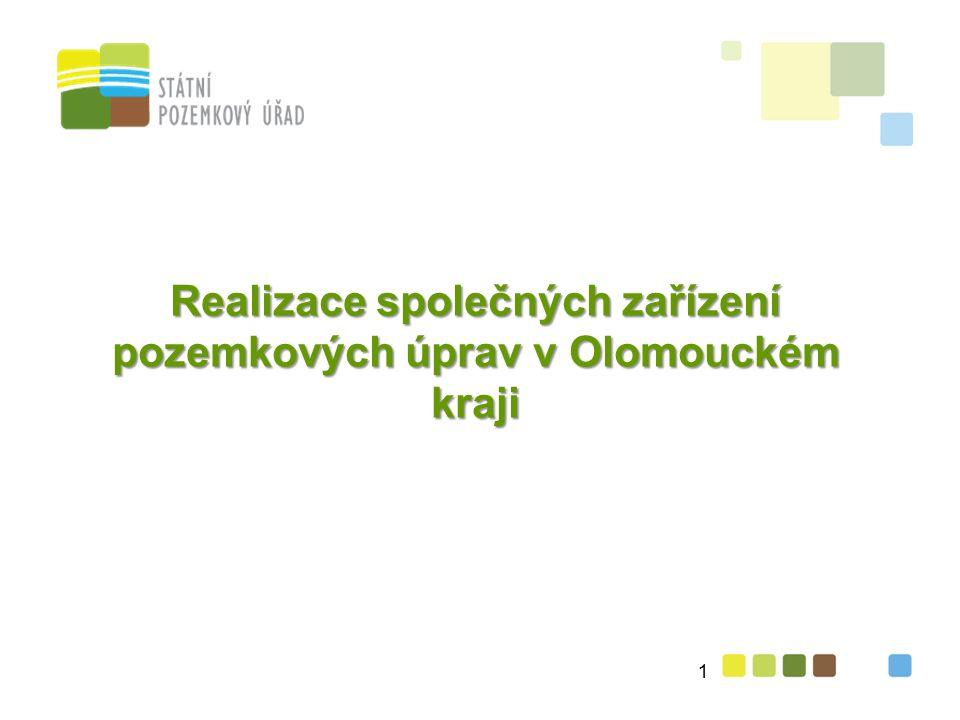 Realizace společných zařízení pozemkových úprav v Olomouckém kraji 1
