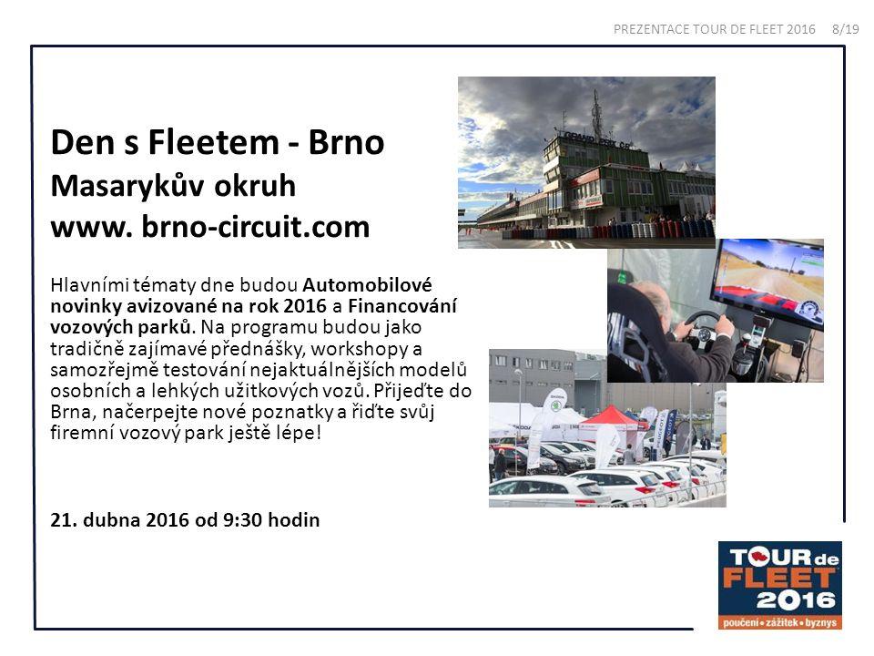 Den s Fleetem - Brno Masarykův okruh www.