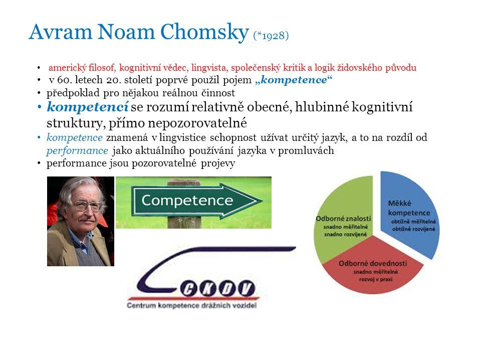 Avram Noam Chomsky (*1928) americký filosof, kognitivní vědec, lingvista, společenský kritik a logik židovského původu v 60.