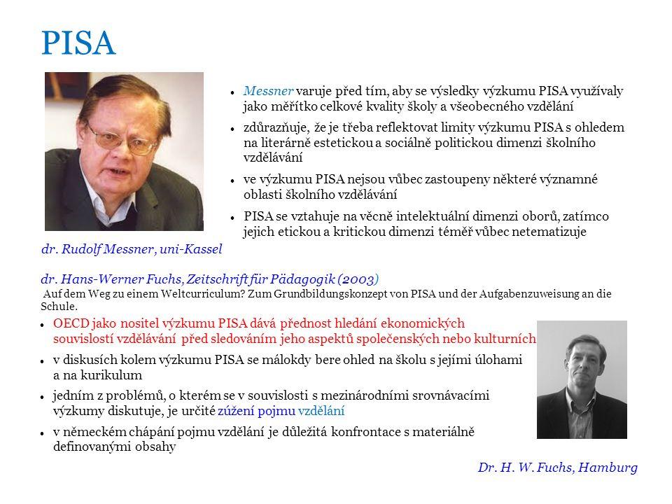 PISA dr.
