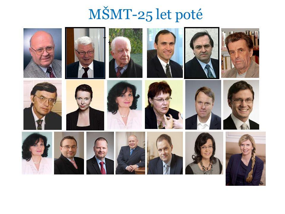 MŠMT-25 let poté † †