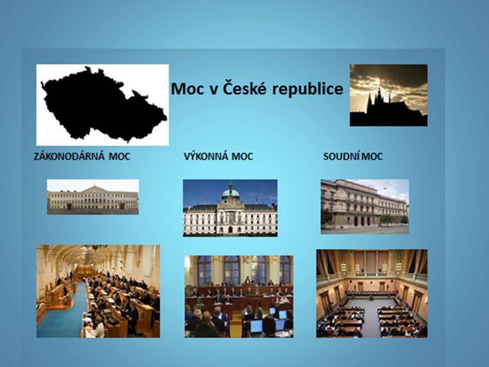 MOC ZÁKONODÁRNÁ V našem státě vykonává moc zákonodárnou PARLAMENT České republiky.