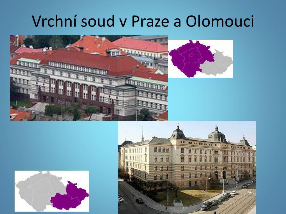 Vrchní soud v Praze a Olomouci