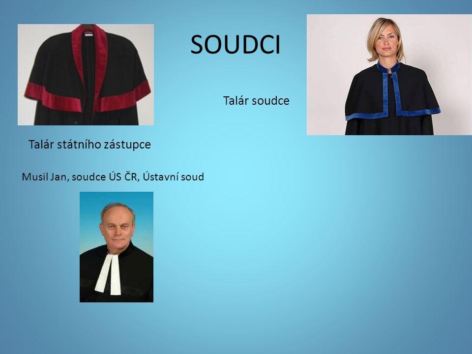 SOUDCI Talár soudce Talár státního zástupce Musil Jan, soudce ÚS ČR, Ústavní soud