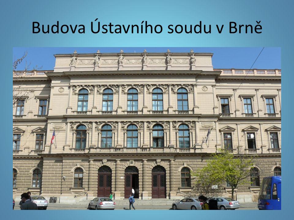 Budova Ústavního soudu v Brně