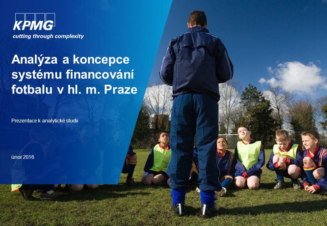 Analýza a koncepce systému financování fotbalu v hl.