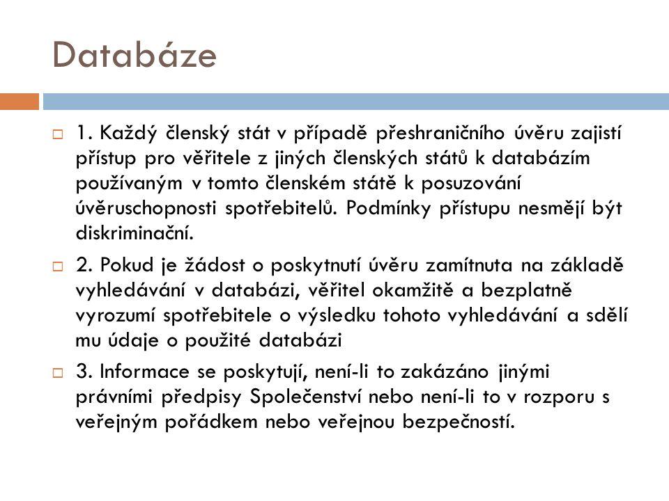 Databáze  1.