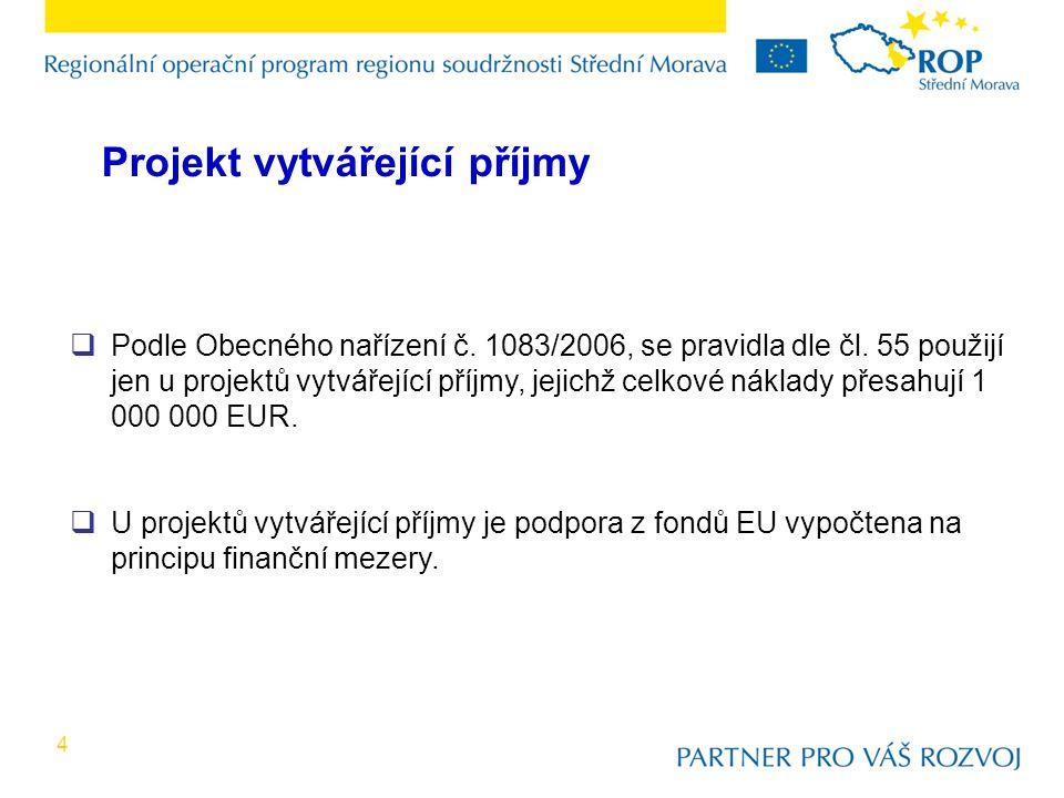 4  Podle Obecného nařízení č. 1083/2006, se pravidla dle čl.