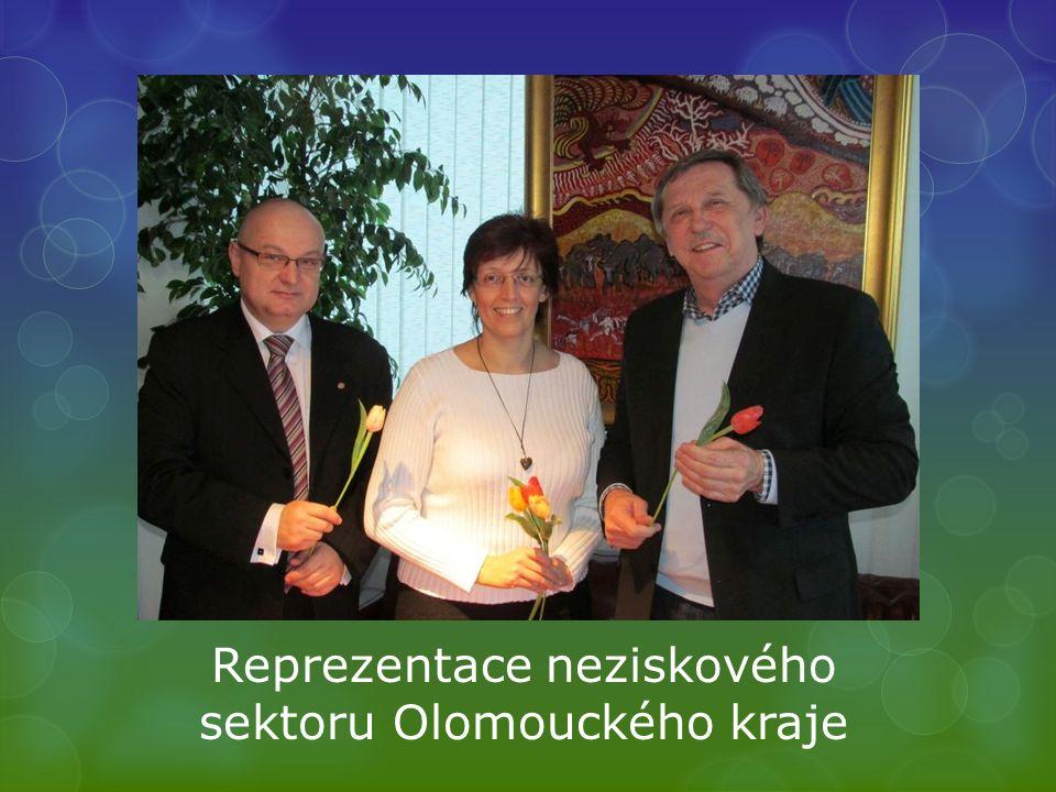 Reprezentace neziskového sektoru Olomouckého kraje