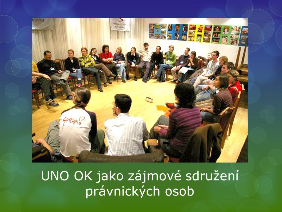 UNO OK jako zájmové sdružení právnických osob