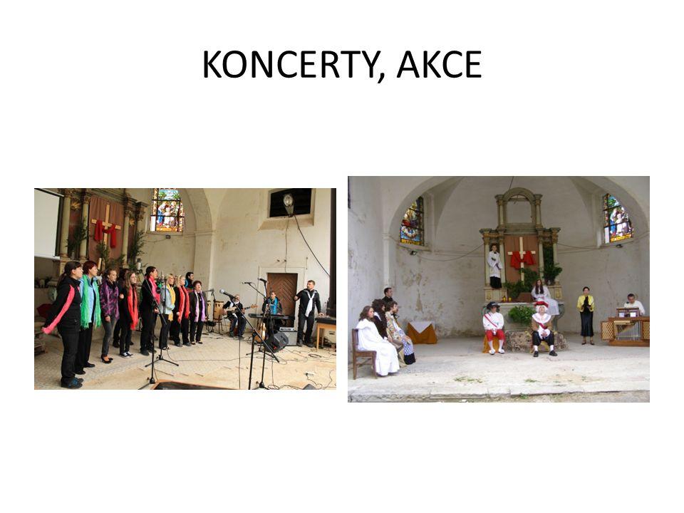 KONCERTY, AKCE