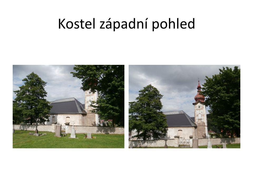 Kostel západní pohled
