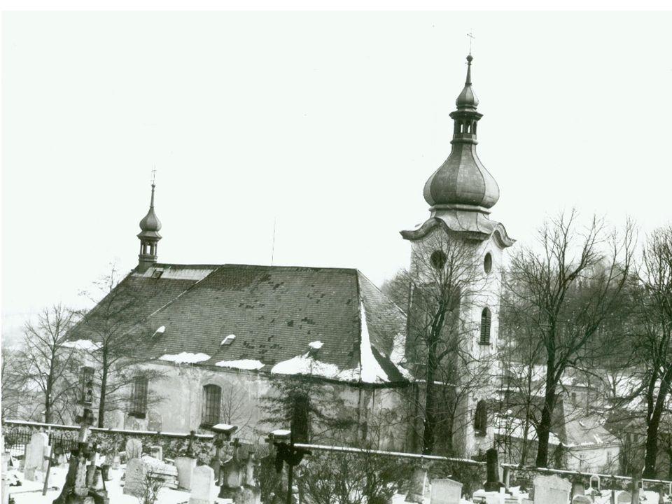 Historické foto kostela